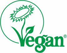 Registered with the Vegan Society